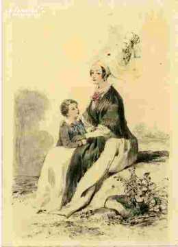 Colorié-Femme de Lisieux (14)