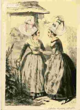 Colorié-Femmes des envrons d'Argentan (61)