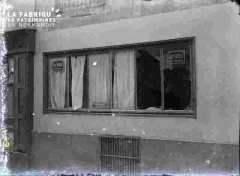 fenêtre de bar