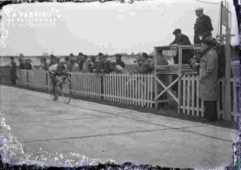 cyclisme, ligne d'arrivée