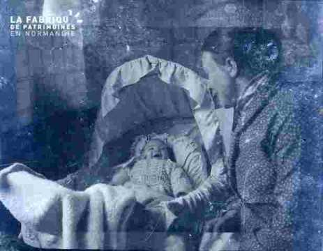 Femme et bébé(