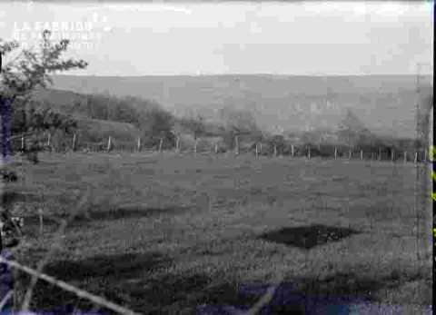 Côteau et champs