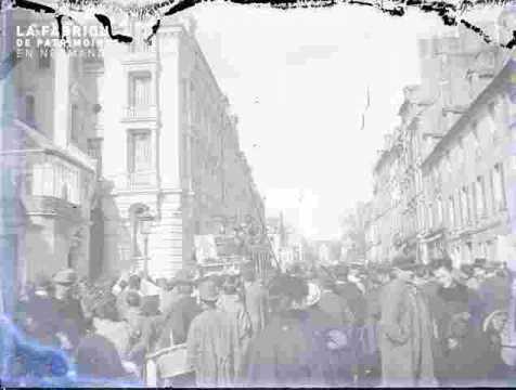 Marché entrée de la rue Pémagnie