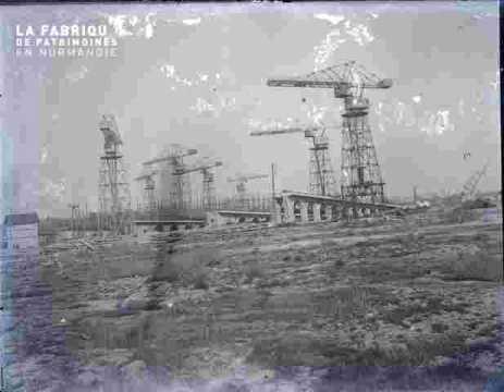Construction navale.Navire en construction