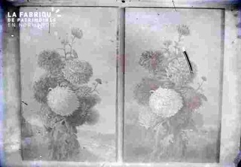 Bouquets de dalhias