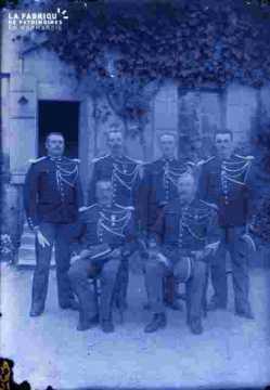 Groupe de militaires