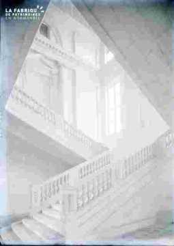 Grand Escalier Château de Bénouville ou  Abbaye aux dames