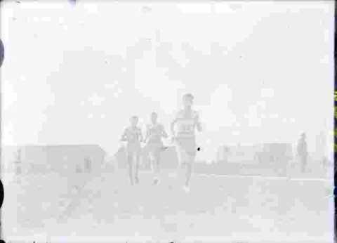 Course à pied  vitesse .en action