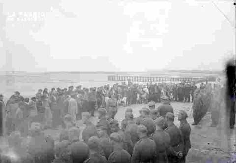 Inauguration du Bateau de sauvetage-Militaires allemands