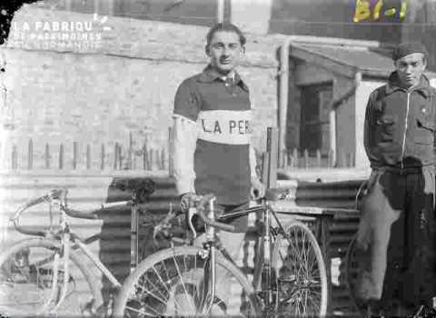Cyclisme, coureur, A.Marie ?