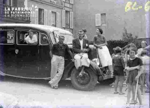 Autocar et enfants