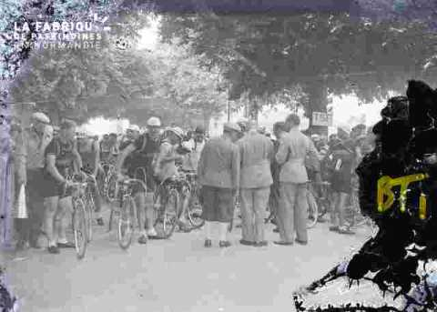 Course cycliste (abimé)