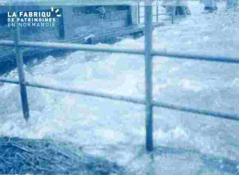 Inondation .prairie.angle.