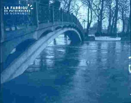 Inondation .Pont