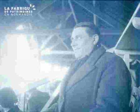 réunion personnalités au stade Malherbe