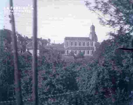 Eglise à tour octogonale
