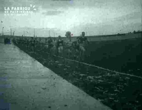 coureurs en course