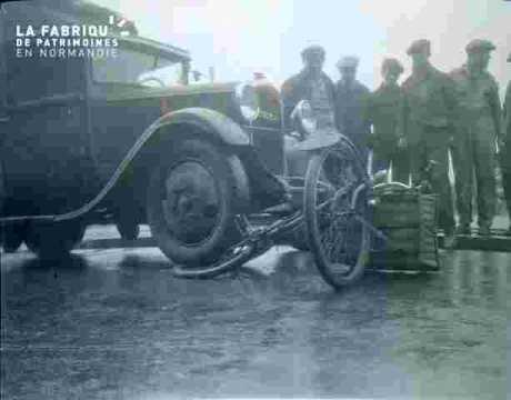 Accident auto contre vélo