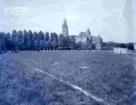 Football-Match au stade Malherbe