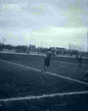 Football-Match en cours