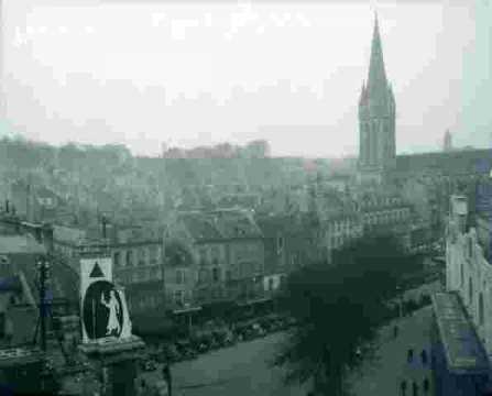 La ville-Clocher de Saint pierre & quartier