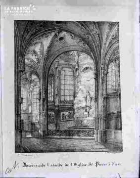 Saint Pierre, abside & intérieur