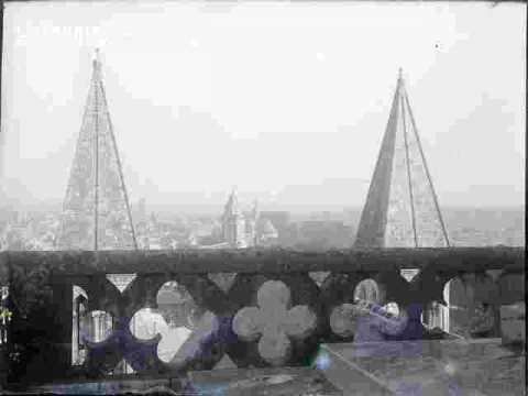 Vieux Saint Etienne vu de Saint Etienne