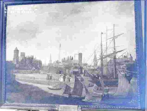La ville, le port