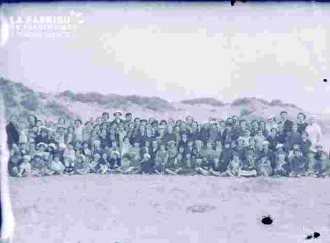 Fêt scol-groupe sur dunes