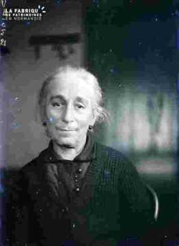 Portrait de Caroline Halot, mère de Charlotte