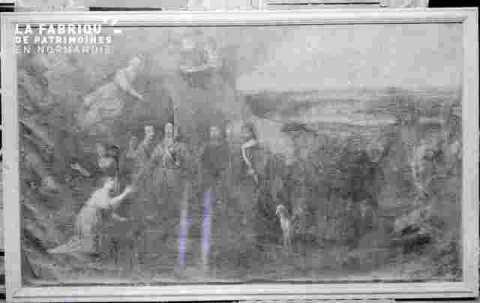 tabl.remise ds clès /Louis XVIII