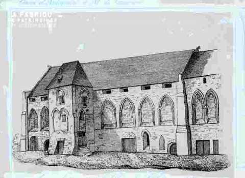 Ancien bâtiment de l'abbaye de Saint Etienne