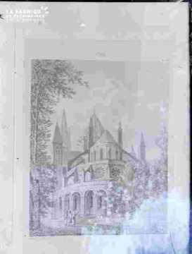 Ancien bâtiment de l'ab de Saint Etienne-Abside