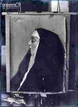 Portrait de religieuse-de Garrido