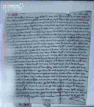 Lettre en latin  Cadomo ligne 2