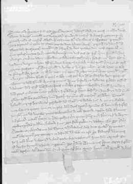 Lettre en latin