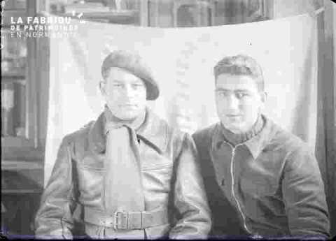 Portrait de deux'hommes-photo
