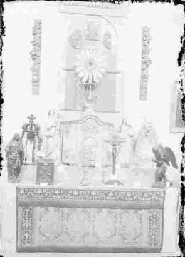 Art religieux-Autel, tabernacle
