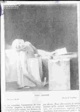 Ch Corday-Marat assassiné