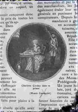 Ch Corday-Dans sa cellule