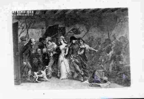 Ch Corday-Emmenée par la troupe
