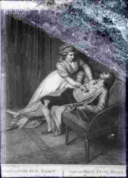 Ch Corday-Assassinant Marat dans un fauteuil