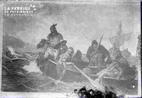 Les Normands débarquant