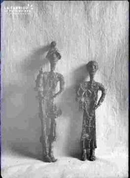 Statuette en cire perdue-Société des Antiquaires de Normandie