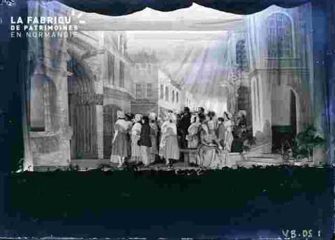 Charlotte Corday et la foule