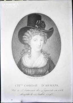 Charlotte Corday-Portrait