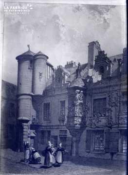 Hotel de la monnaie (bourse) cour
