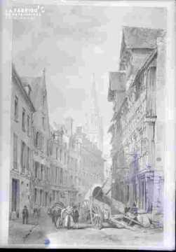 Saint Pierre-vu de la rue de Geôle