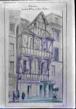Maisons anciennes -rue Saint Jean