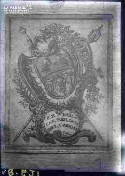 Blason royal de la ville de Caen (Cadomus)
